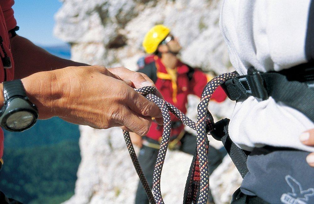 Outdoor-Abenteuer vor hochalpiner Kulisse